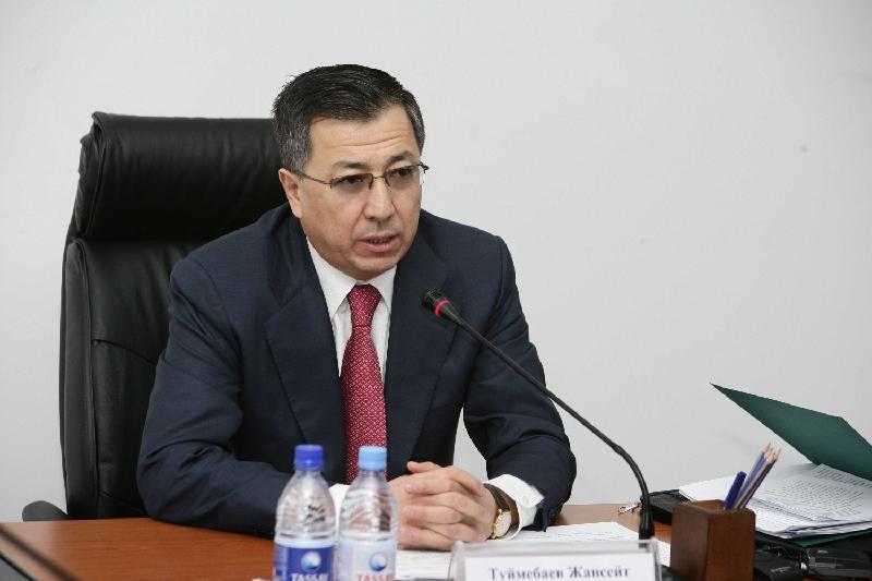 Жансейіт Түймебаев – Оңтүстік Қазақстан облысының әкімі