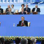 Мемлекет басшысы Нұрсұлтан Назарбаев: Қазақтың басы бiрiккенде, барлық жауын жеңiп отырған
