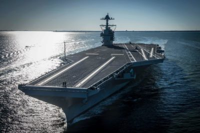АҚШ әлемдегі ең үлкен әскери кемені сынақтан өткізді