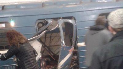 Санкт-Петербургтегі жарылыстан 10 адам қаза болды