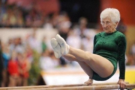 Тоқсаннан асып кеткен Йоханна Кваас әлі гимнастикамен шұғылданады!