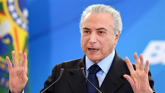 Бразилия президенті Мишель Темер жеңе ме, әлде, Бас прокуроры Родриго Джанот па?..