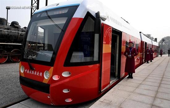 Қытай әлемде алғашқы болып сутегімен жүретін трамвайды пайдалануға берді