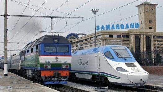 Сәуір айынан бастап Астана мен Самарқанд арасында пойыз қатынайды