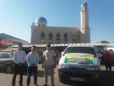 Рамазан айы: Қызылордада жас кәсіпкер тегін такси қызметін ұсынды