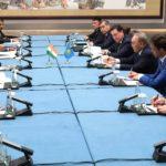 Нұрсұлтан Назарбаев Үндістан Премьер-Министрі Нарендра Модимен кездесу өткізді