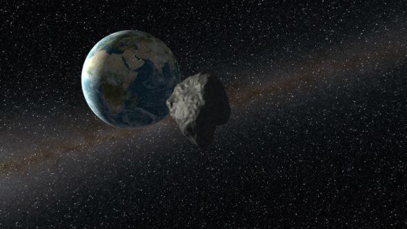 Жерге қарай 60 000 км/сағ жылдамдықпен астероид жақындап келеді…