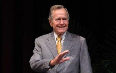 Үлкен Джордж Буштың соңғы сөзі: мен де сонда тұрғым келеді…