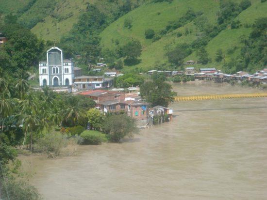 Колумбияда өзен жоғалып кетті…