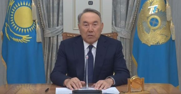 Н. Назарбаев президенттіктен кетті…