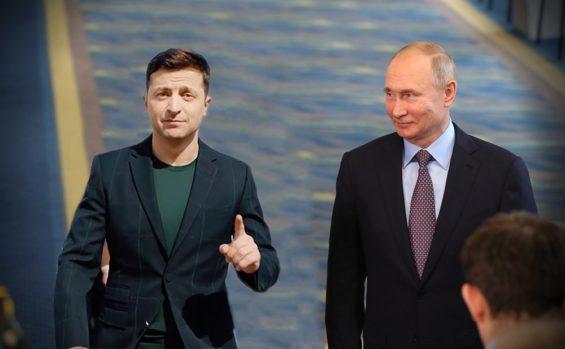В. Путин: Зеленский…Жаратушы Құдай емес, оның алдында тізерлеуім екіталай