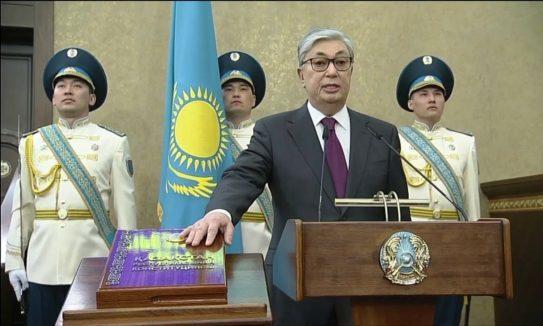 Қ. Тоқаев 12-маусымда салтанатты түрде президенттікке кіріспек