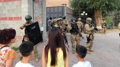 Қырғызстан: А. Атамбаевты ұстау шарасы…