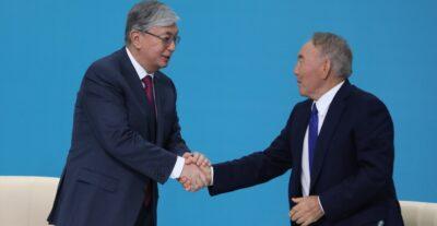 Н. Назарбаев Қазақстан халқы Ассамблеясы төрағасы қызметінен кетті