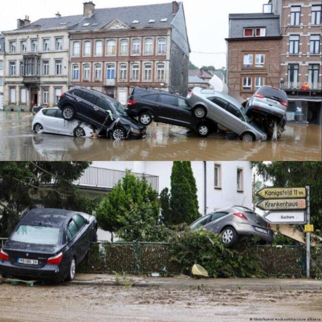 Германия мен Бельгиядағы су тасқыны салдарынан қаза болғандар саны артты